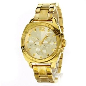 Woman's Coach Gold Watch